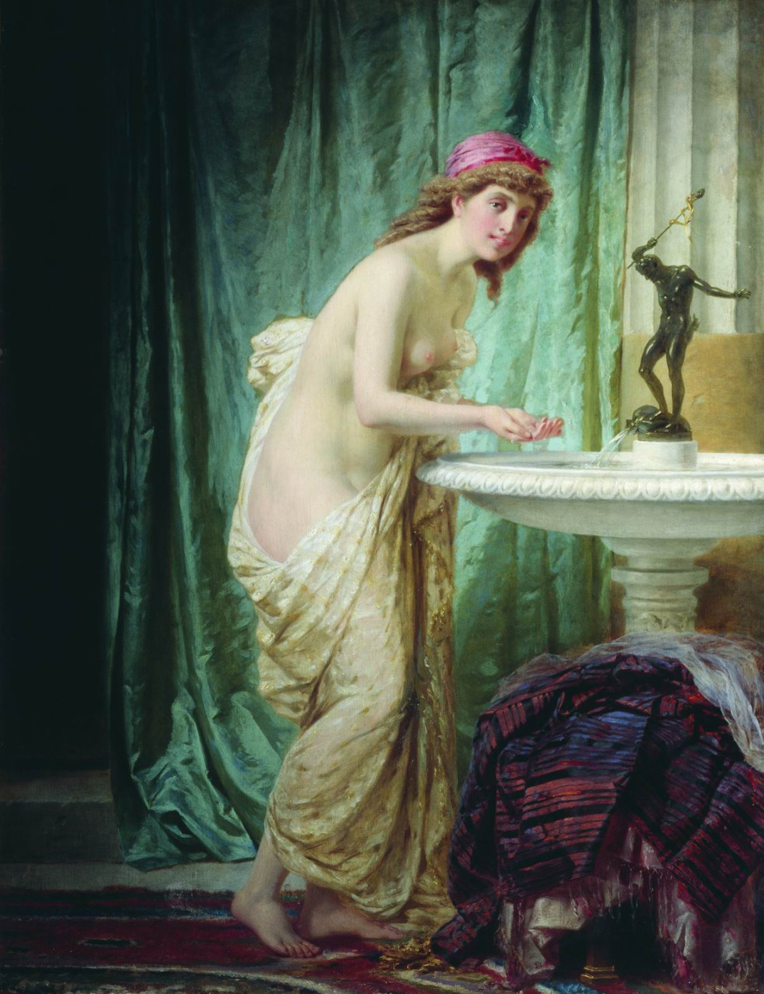 Fedor Andreevich Bronnikov. The lady at the morning toilet.