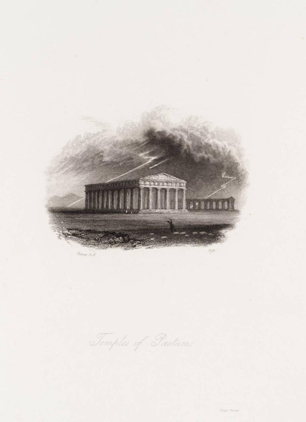 Joseph Mallord William Turner. The Temples Of Paestum