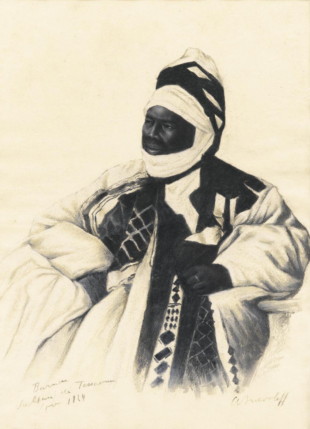 Alexander Yakovlev. Sultan Barmou from Tessaou. 1924