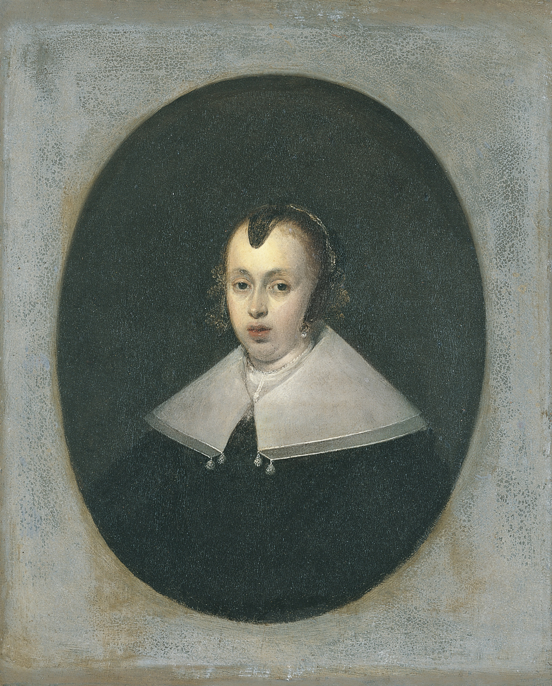 Gerard Terborch (ter Borch). Portrait of a Thirty Years Old Woman