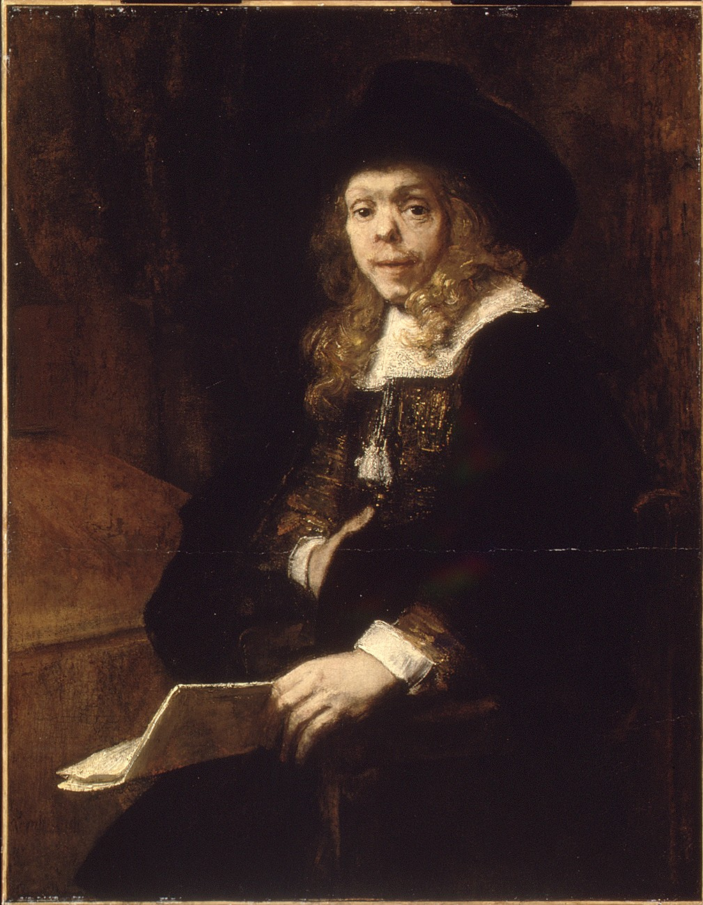 Rembrandt Harmenszoon van Rijn. Portrait of Gerard de Laresse