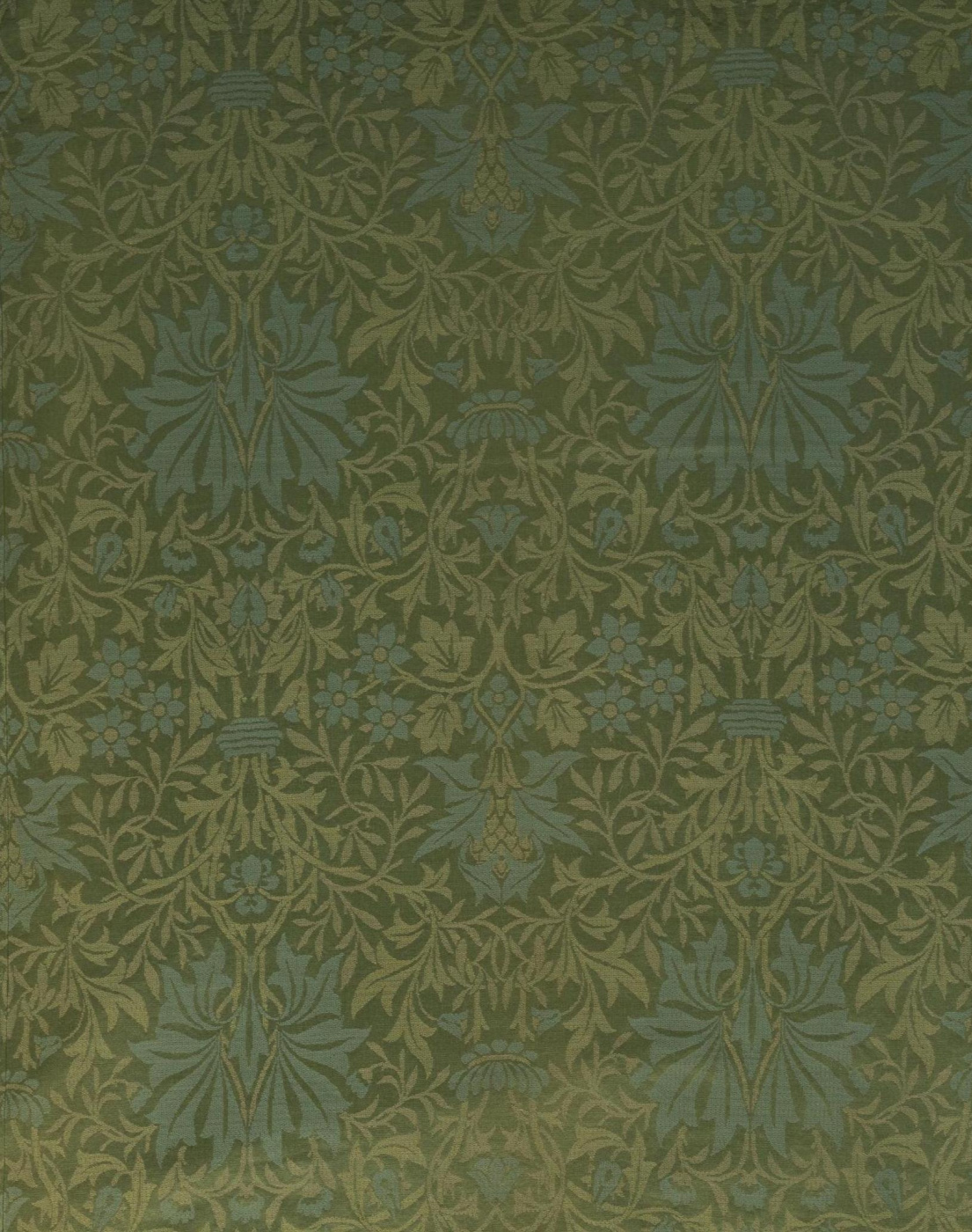 William Morris. In the flower garden