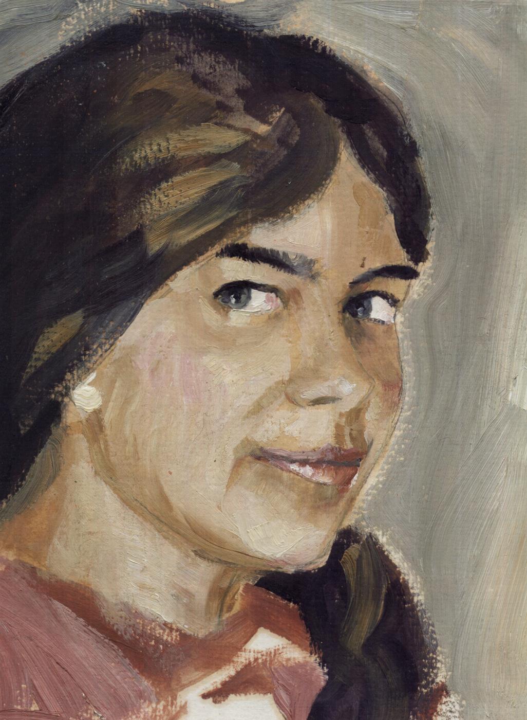 Yuri Petrovich Konnov. Portrait of Sister Vera