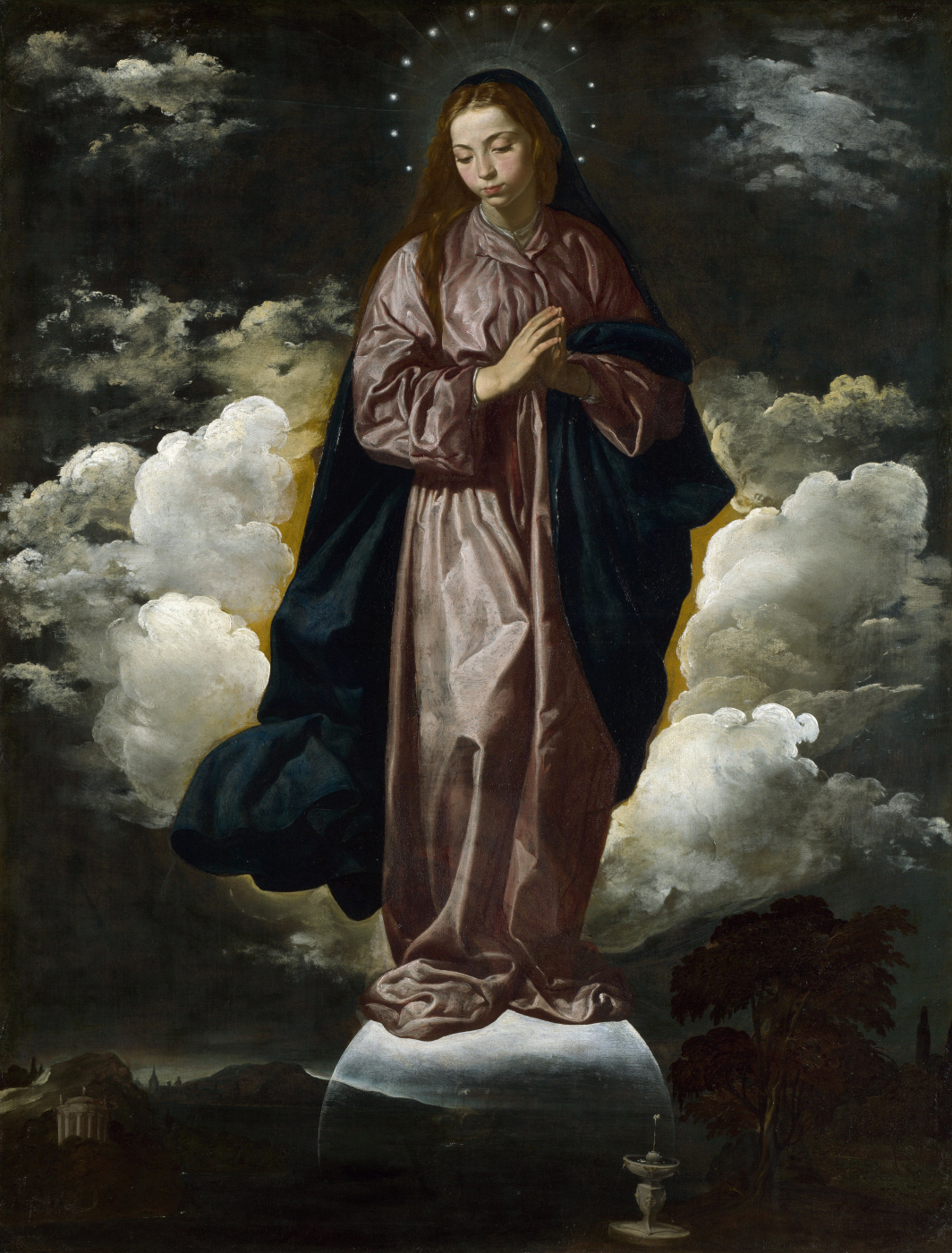 Diego Velazquez. Immaculate conception