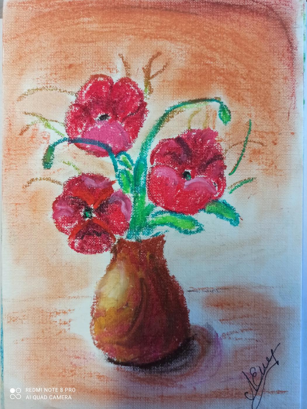Unknown artist. Poppies