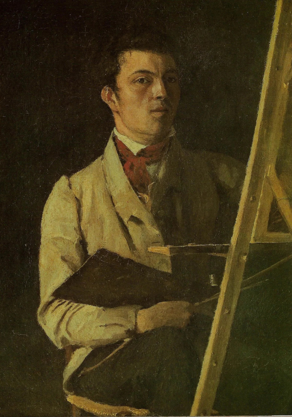 Camille Corot. Self-portrait