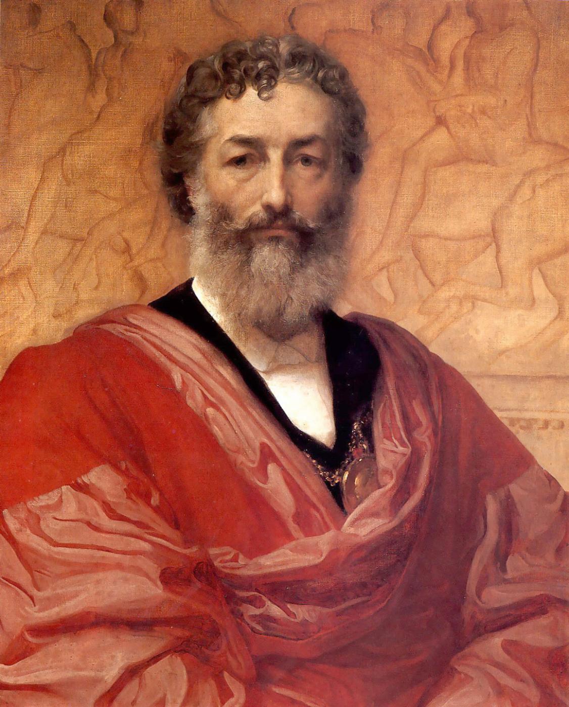 Frederic Leighton. Self-portrait