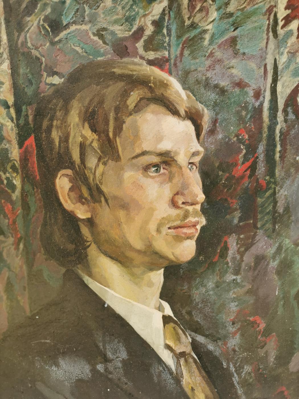 Leonid Vasilyevich Kabachek. Student portrait