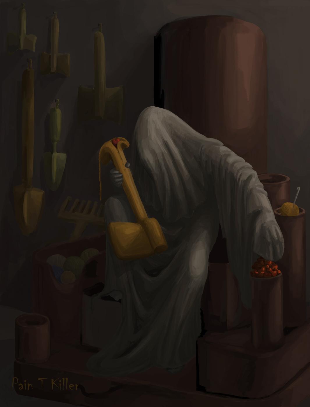 Pain T Killer. Monk