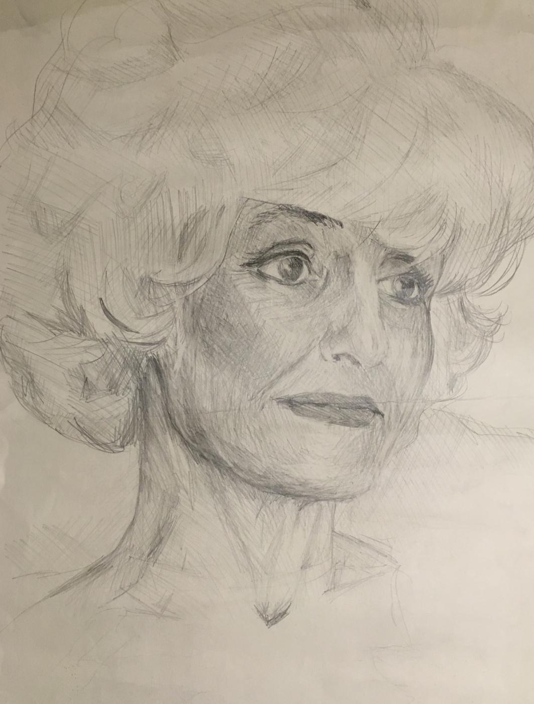 Vsevolod Chistyakov. Portrait of a woman