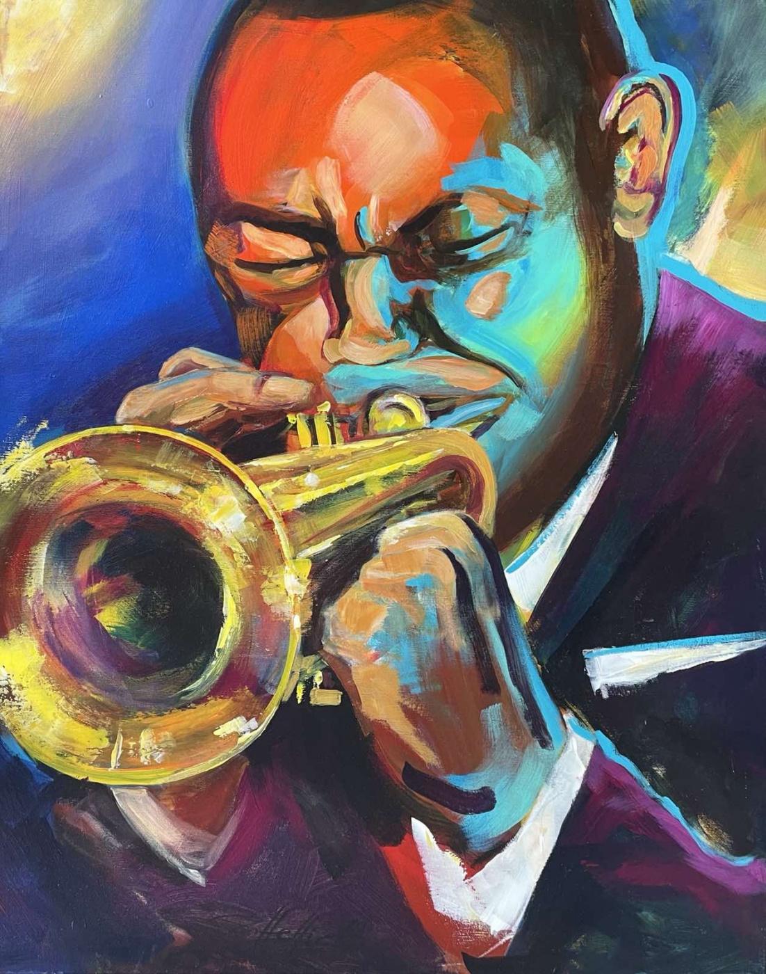 Robert Hettich. Jazz trumpet