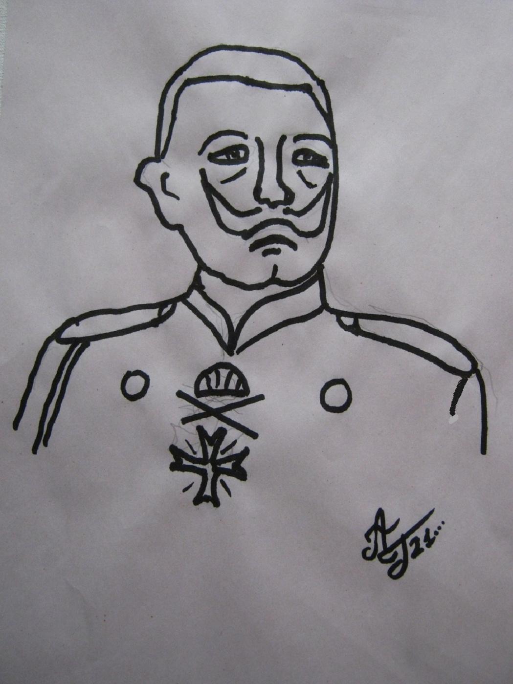 """Alexey Grishankov (Alegri). """"Кайзер"""" (Der Kaizer"""")"""