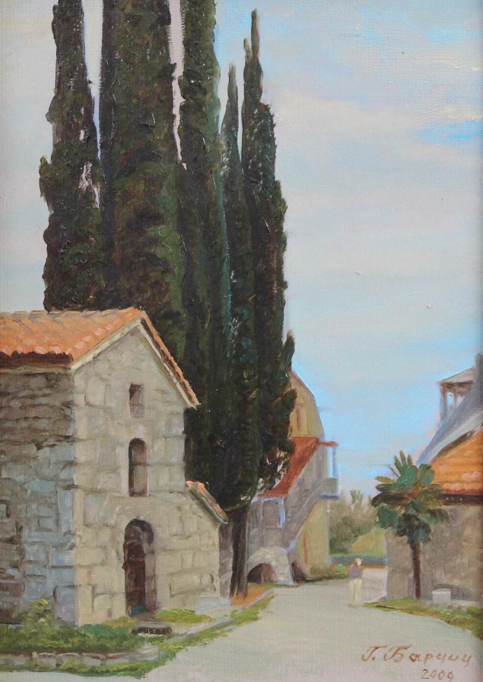 Gennady Shotovich Bartsits. Hypatia Temple in Gagra
