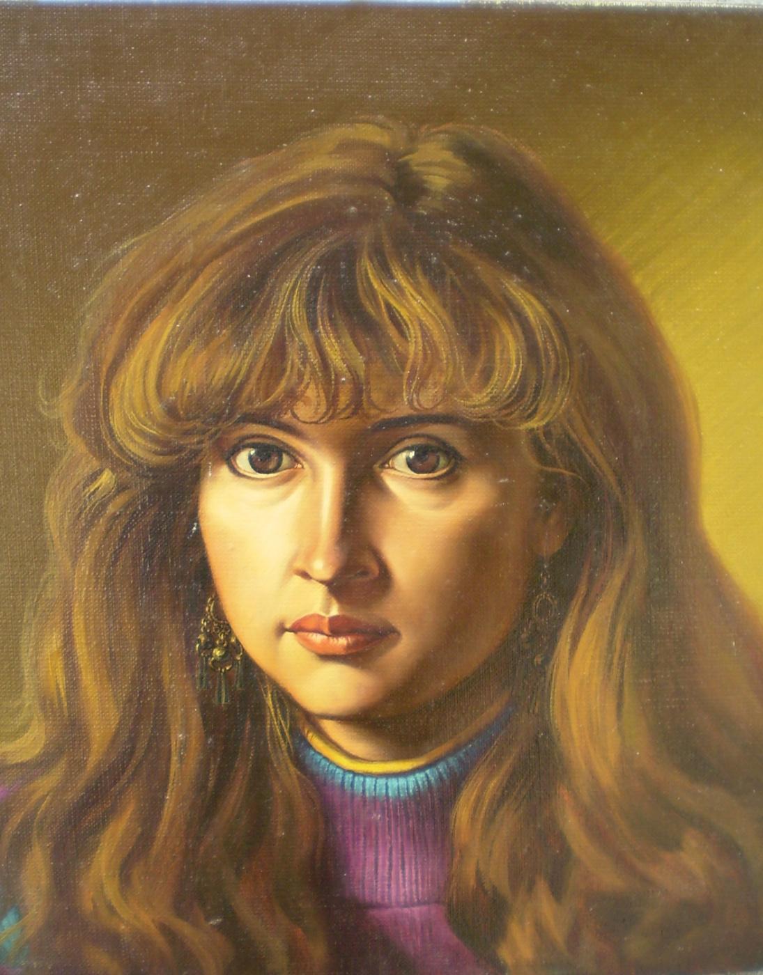 Сергей Георгиевич Леконцев. Portrait Of A Lyre