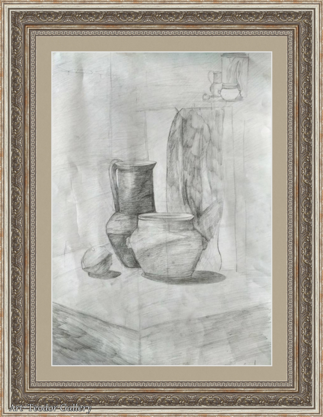 Art-Teodor Gallery. Still life pencil jugs