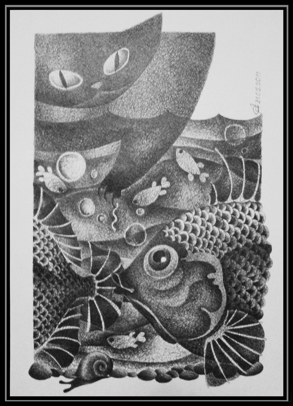 Georgy Stepanov. BIG FISH