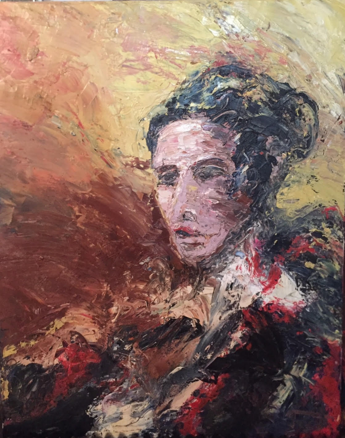 Jacques Gorde. Spanish Woman