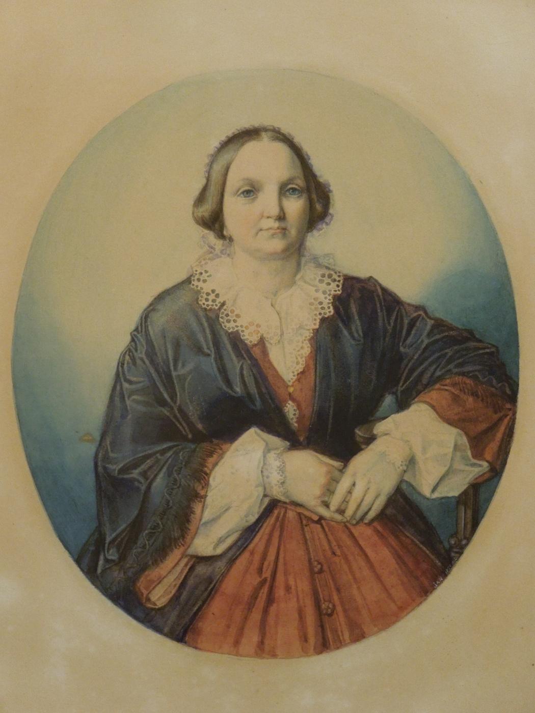 Jan Matejko. Portrait of Polina Dzhibultovskaya