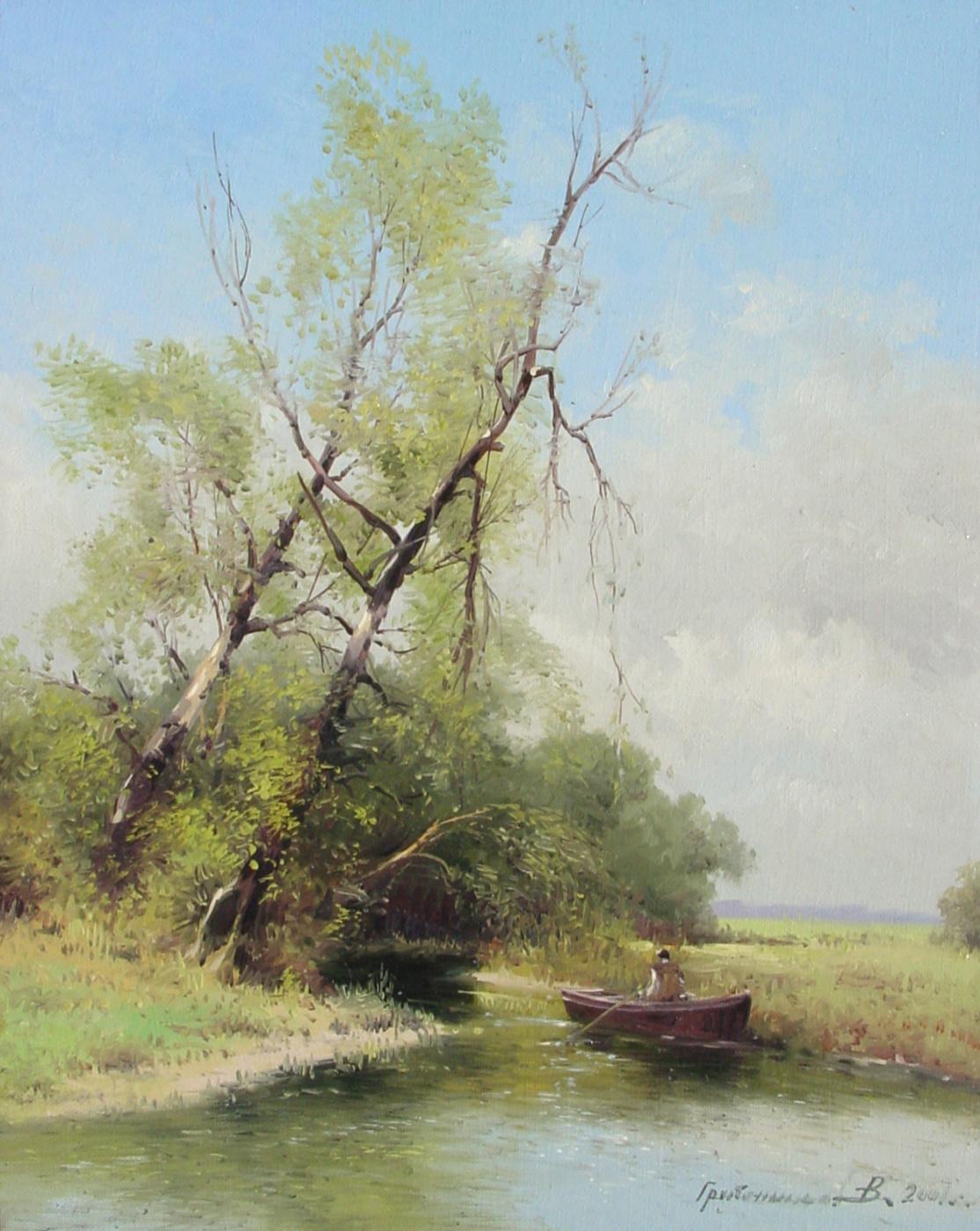 Vasily Ivanovich Gribennikov. Summer