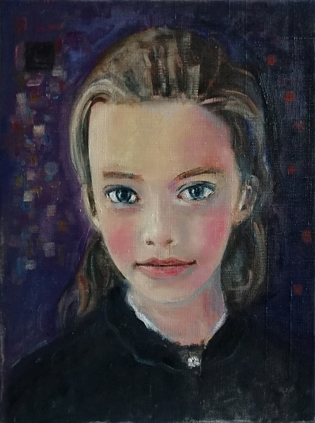 Igor Veniaminovich Bondarenko. Portrait of a girl