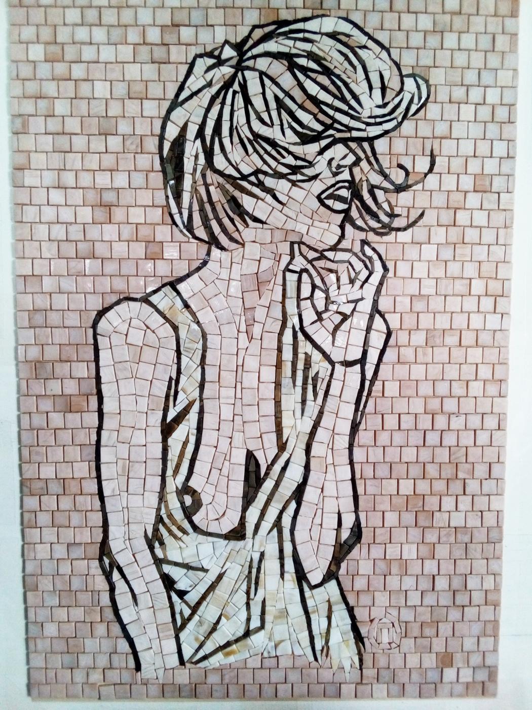 Olesya Vyacheslavovna Pisarenko. Windy. Mosaic