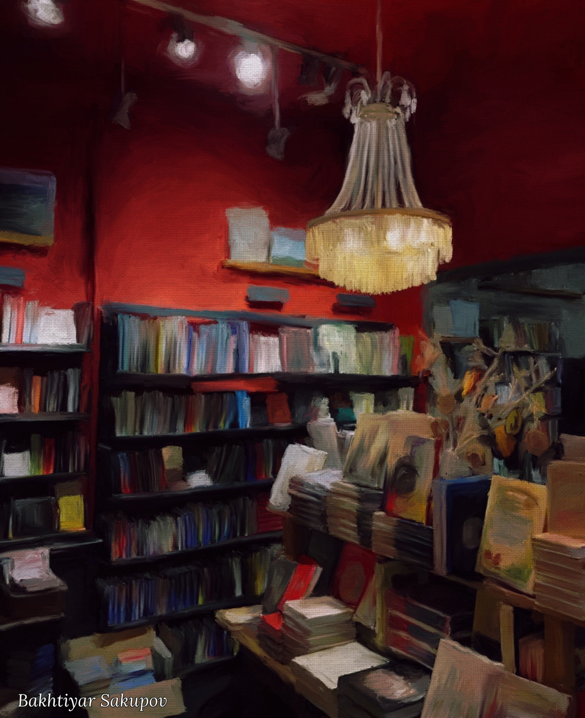 Bakhtiyar Sakupov. The bookshop