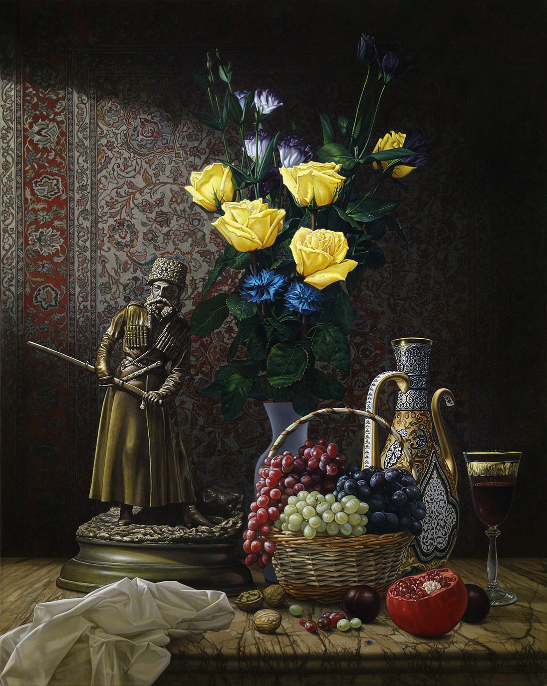 Alexander Mikhailovich Sushenok. Gifts of the Caucasus. 2018-19.