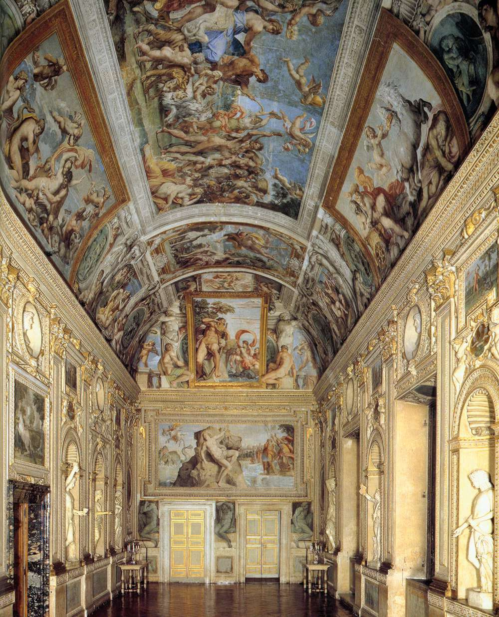 Annibale Carracci. Murals of the Gallery Farnese