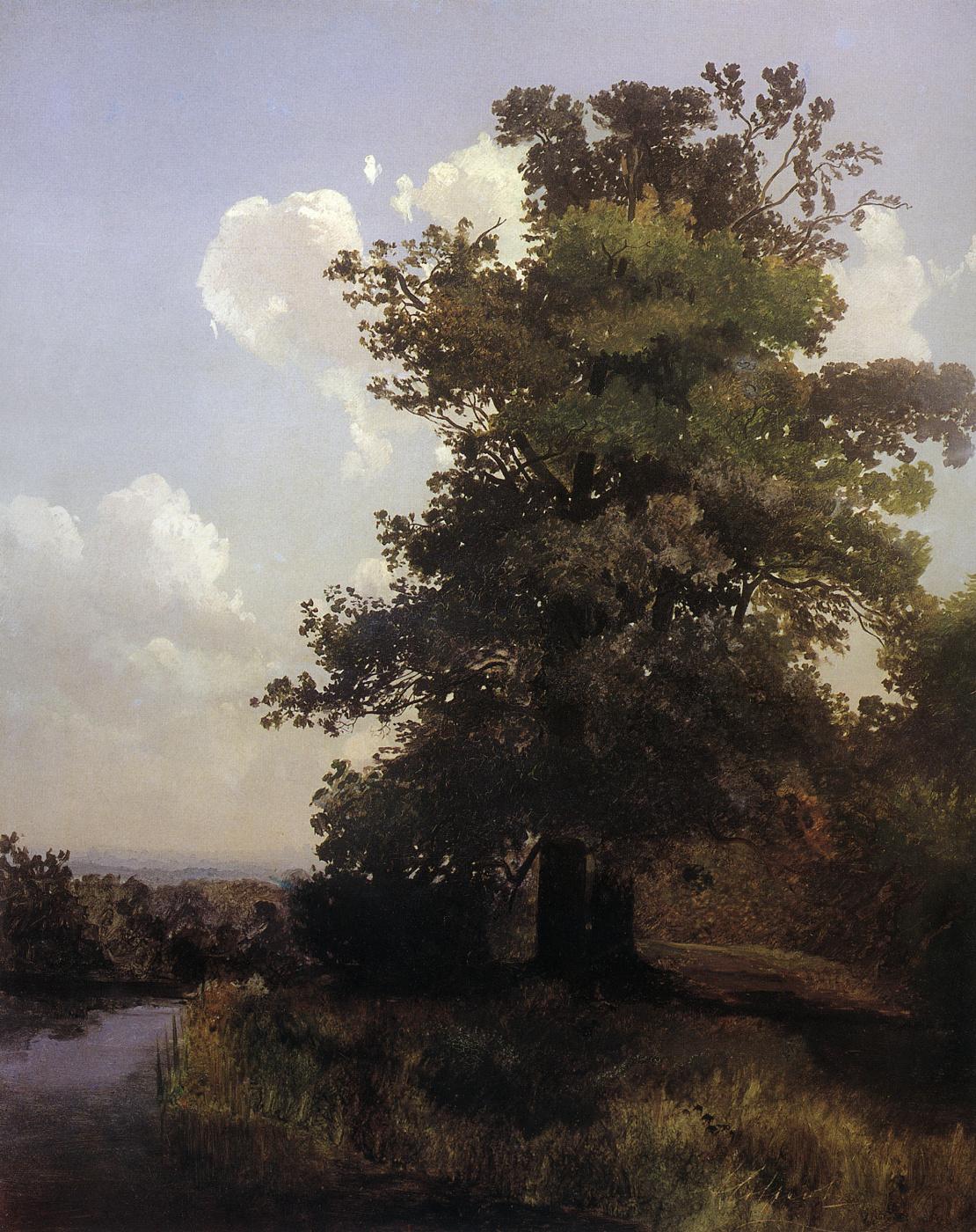 Alexey Savrasov. Oaks