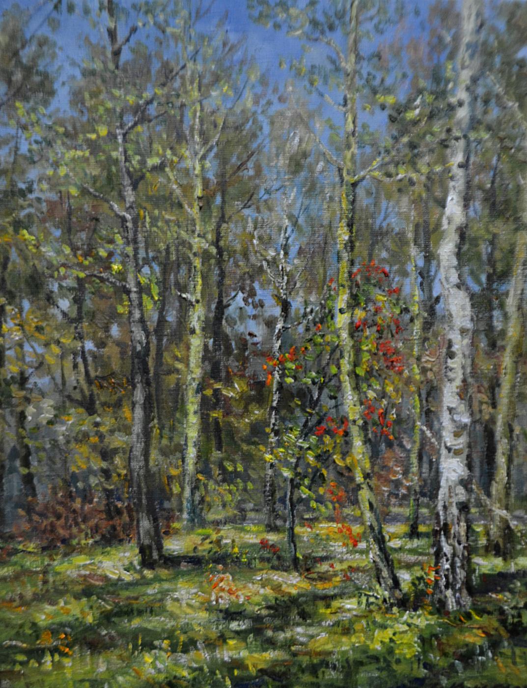 Victor Vladimirovich Kuryanov. The colors of autumn