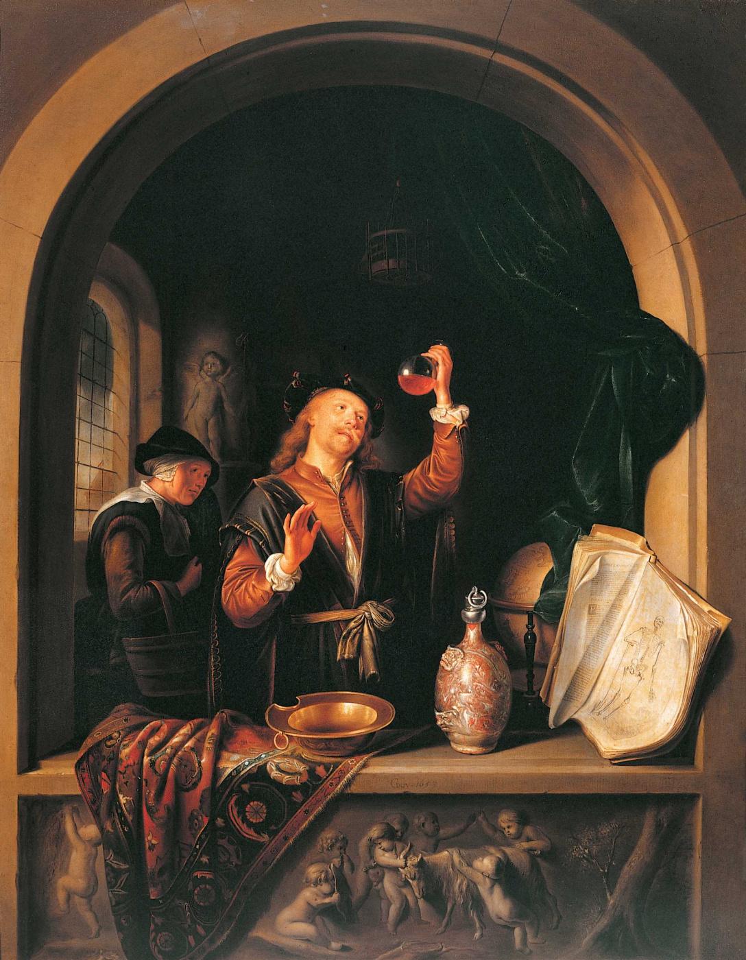 Gerrit Dau. The doctor