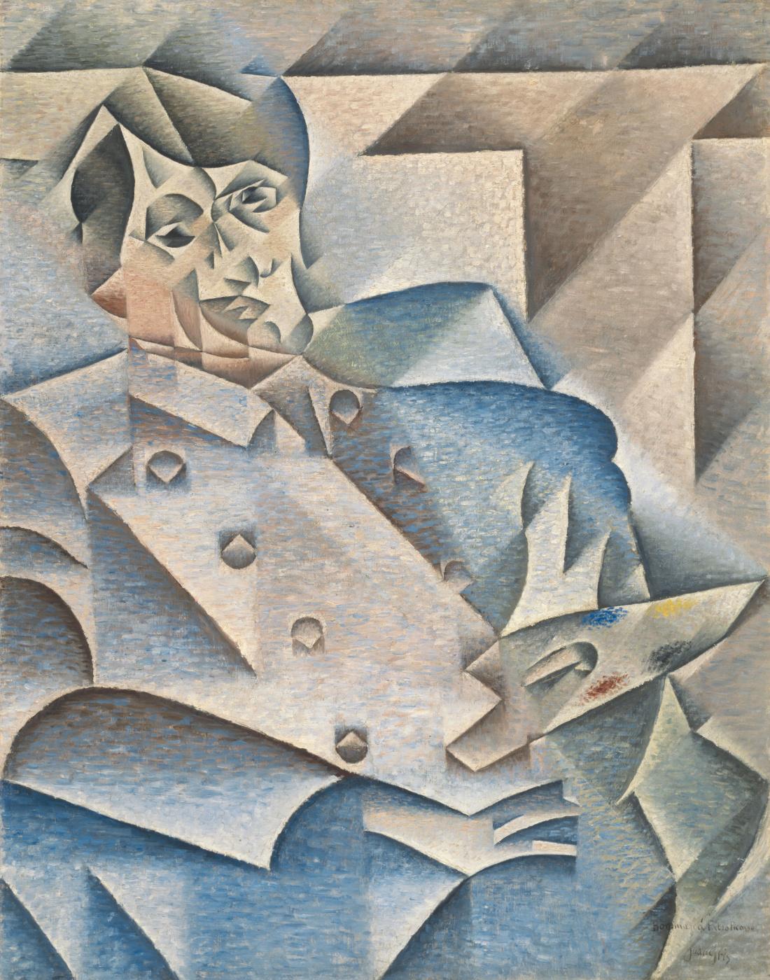 Juan Gris. Portrait Of Pablo Picasso