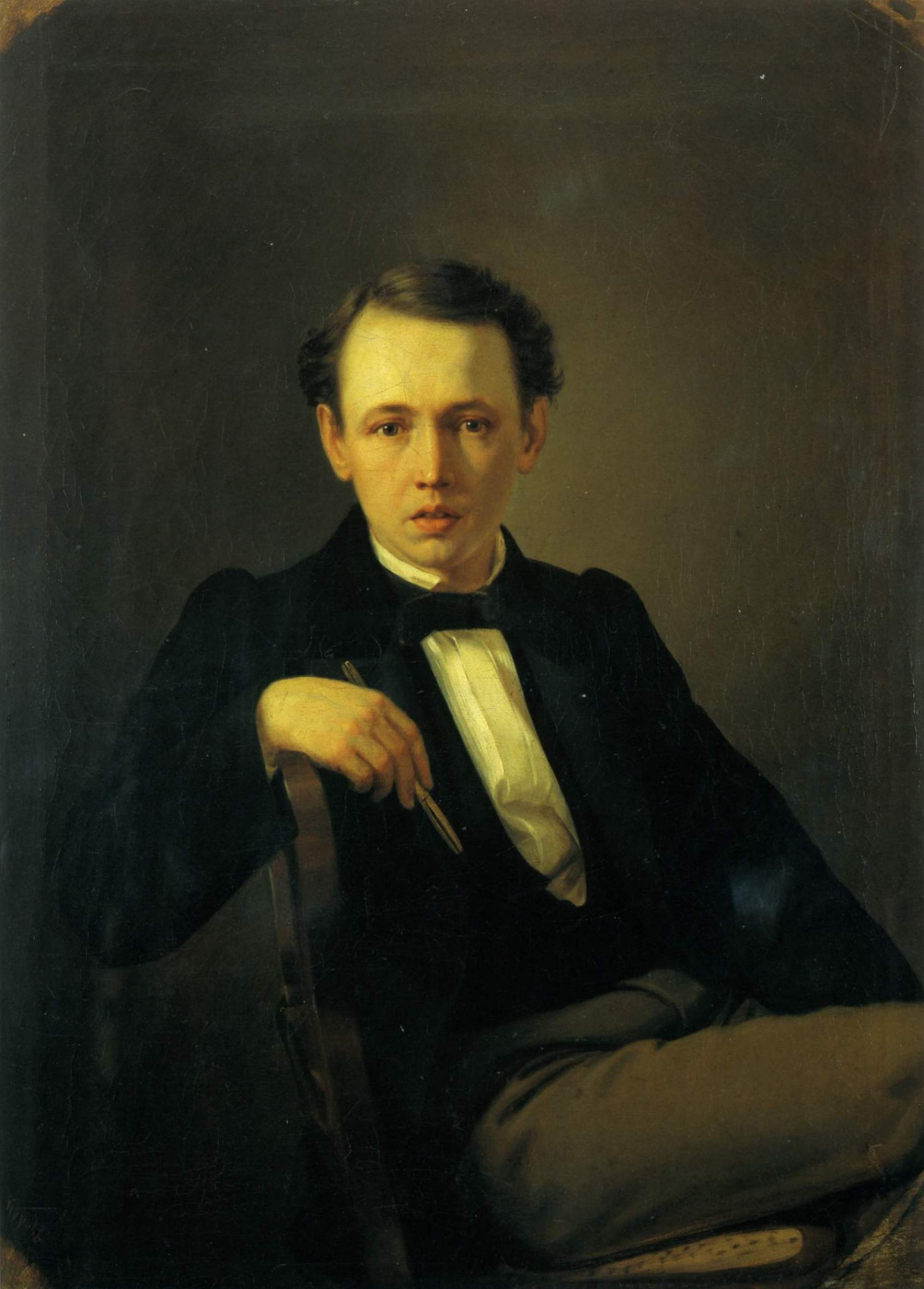Vasily Grigorievich Perov. Self-portrait