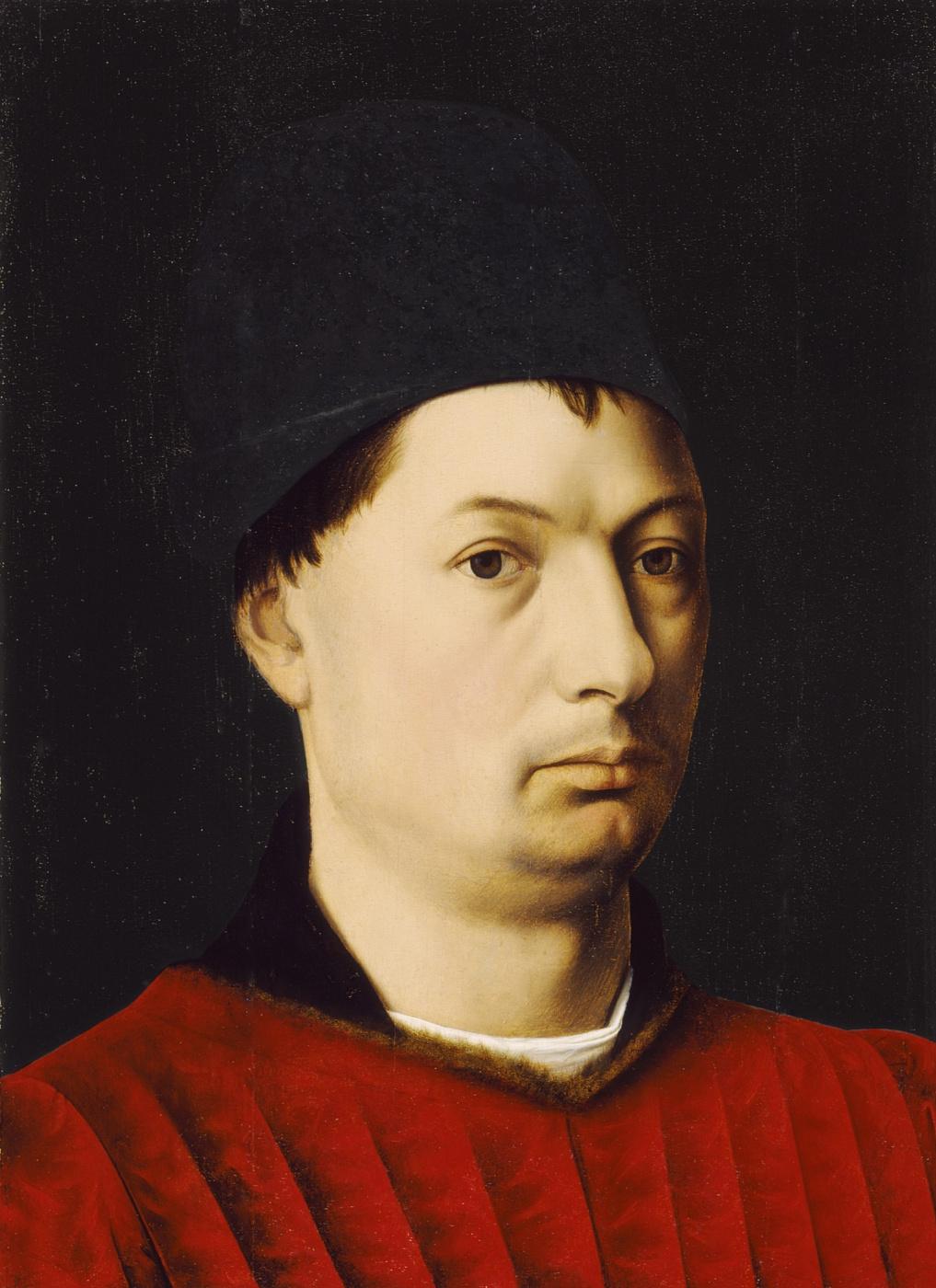 Petrus Christus. Portrait of a Man