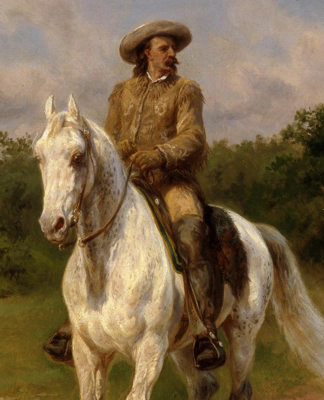 Rose Bonhur. Colonel William F. Cody (Buffalo Bill). Fragment
