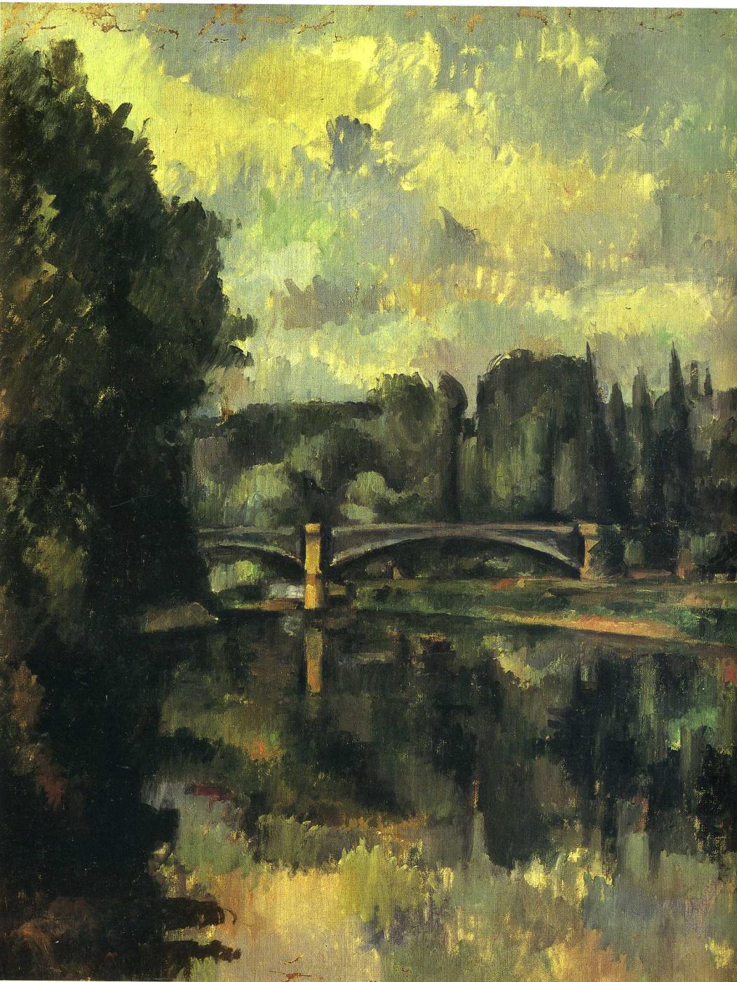 Paul Cezanne. River Marne