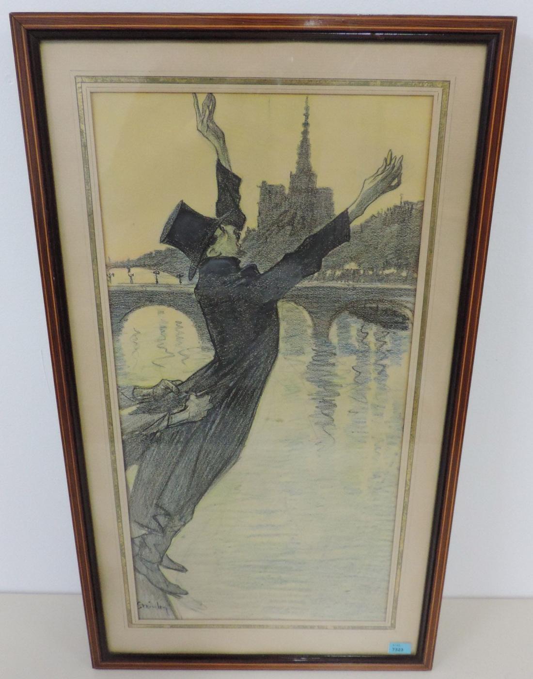Suicide over the Seine