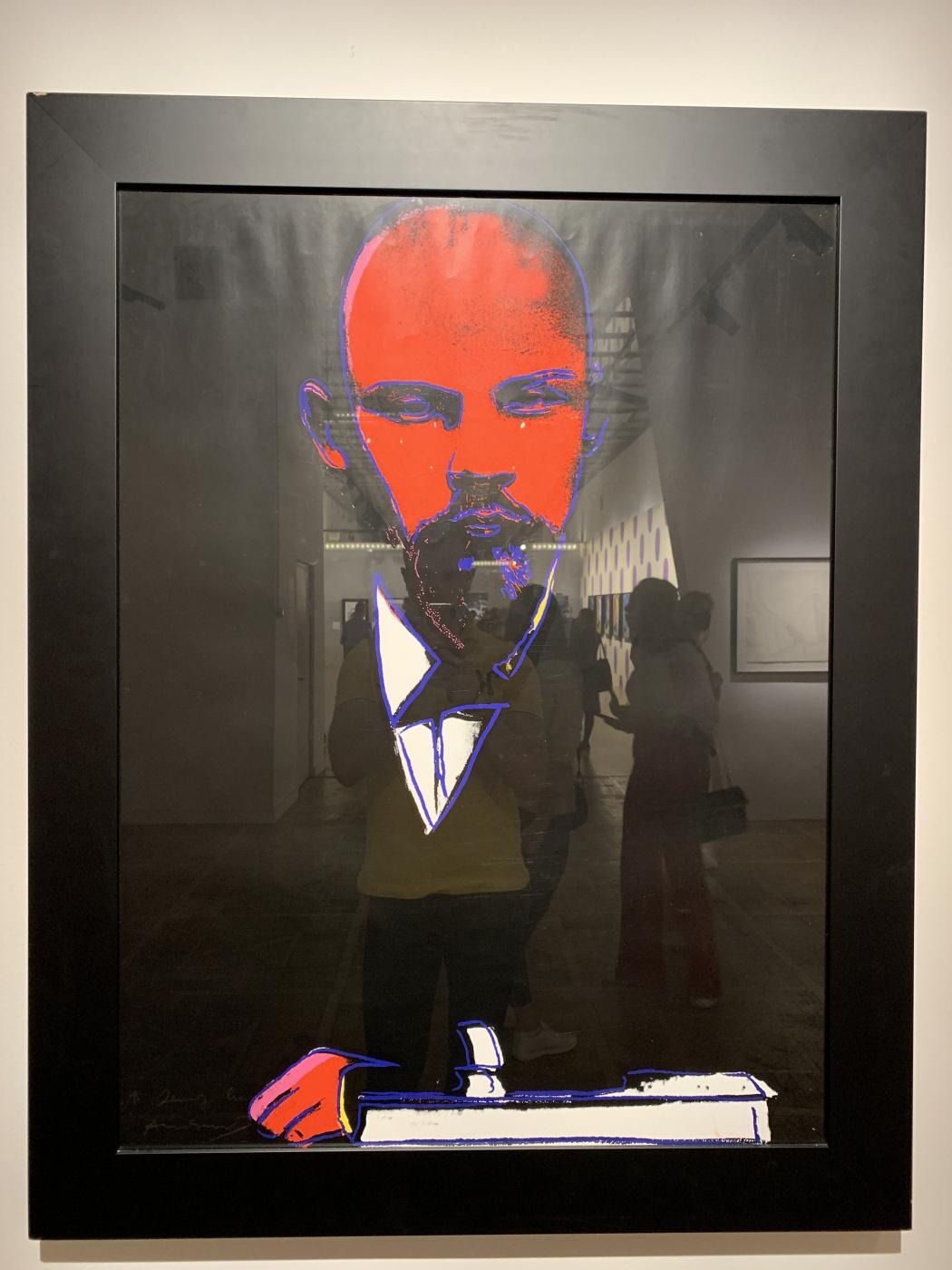 Andy Warho. Black Lenin