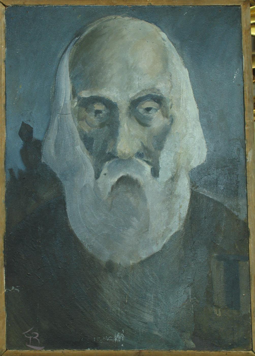 Unknown artist. Portrait