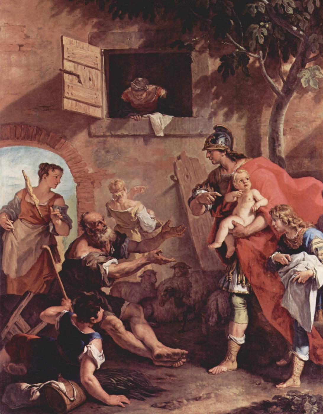 Sebastiano Ricci. The Childhood Of Cyrus
