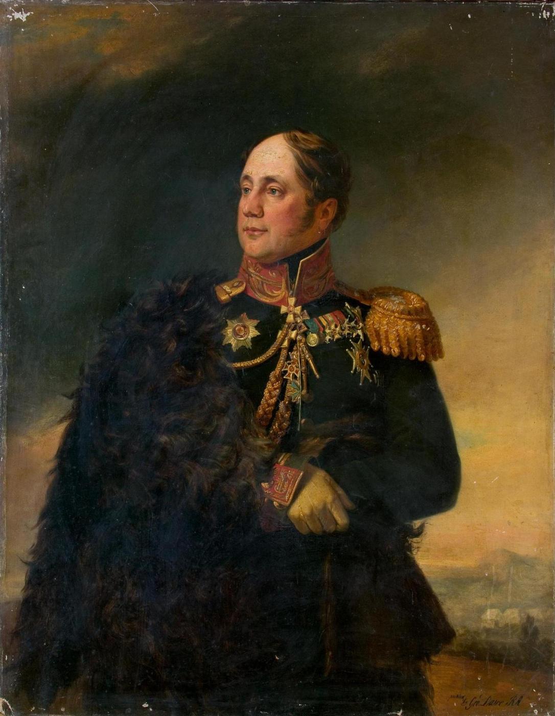 George Dow. Portrait of Nikolay Martemyanovich Sipyagin