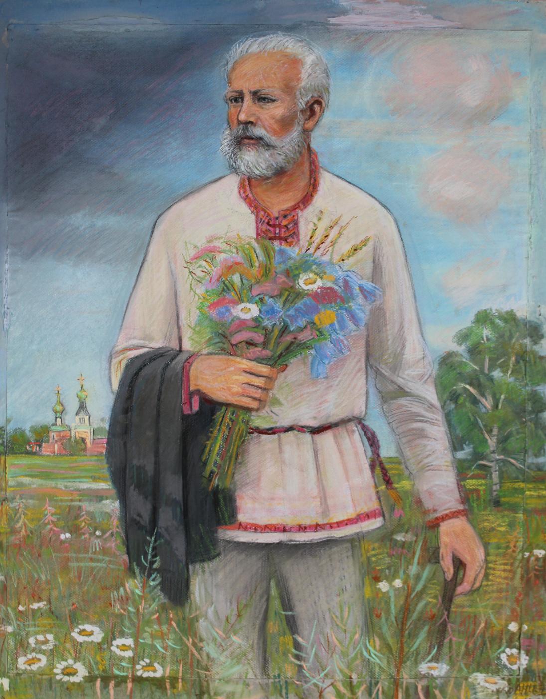 Eugene Alexandrovich Kazantsev. P.I. Tchaikovsky in the field.