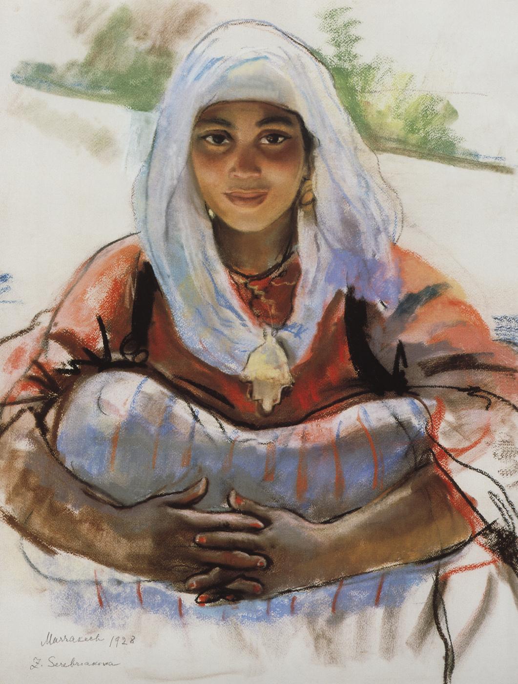 Zinaida Serebriakova. Lit by the Sun