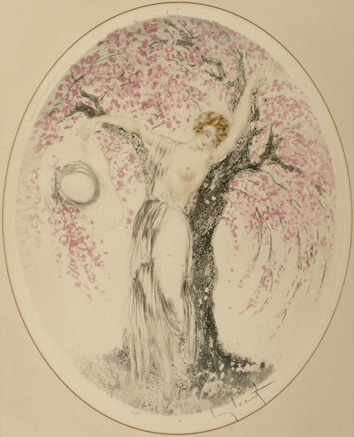 Icarus Louis France 1888 - 1950. Springtime. 1924