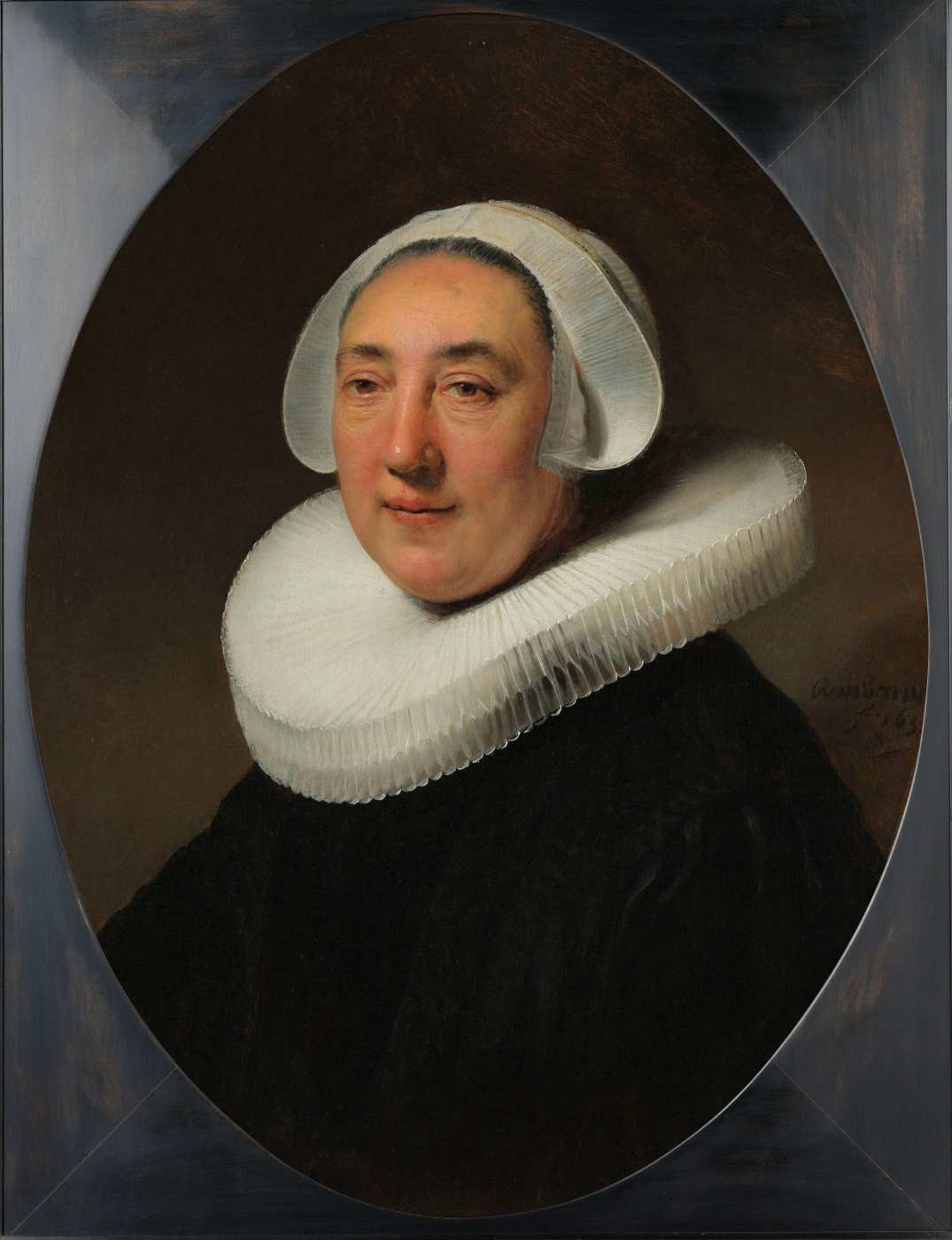 Rembrandt Harmenszoon van Rijn. Portrait Hazy van Clayburg