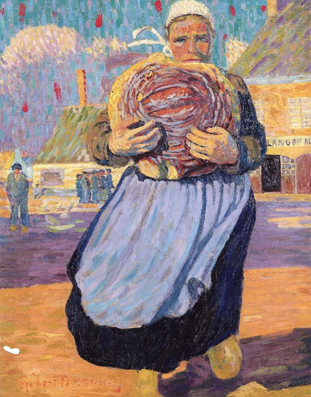 Robert Delaunay. Woman with Bread