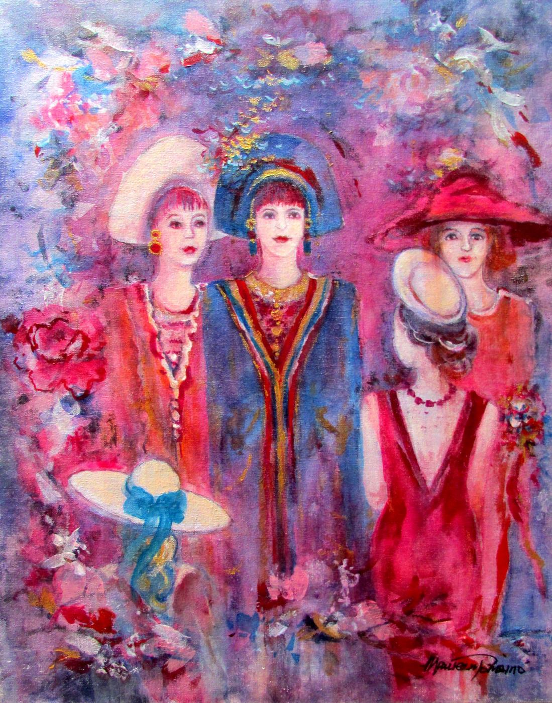 Maureen Tomaino. Crimson Hat