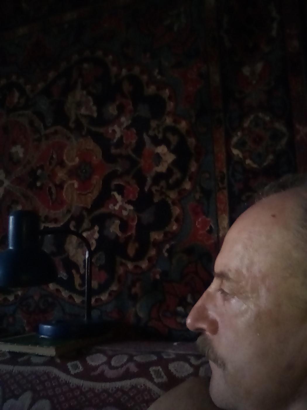 "Alexey Grishankov (Alegri). ""Alone with a table lamp"""