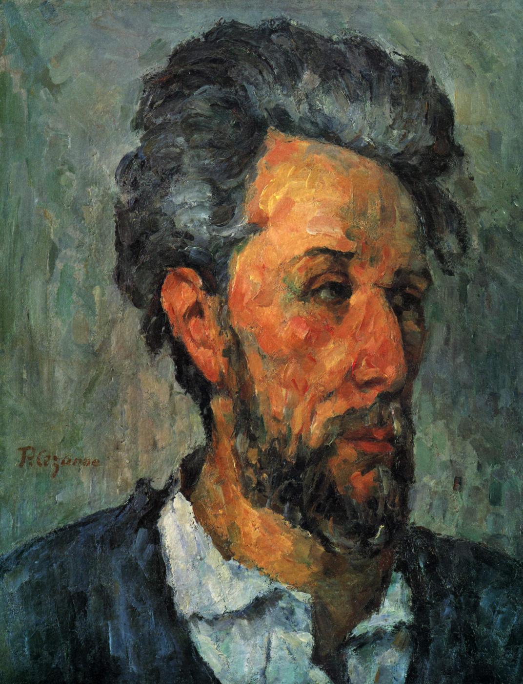 Paul Cezanne. Portrait Of Victor Shock