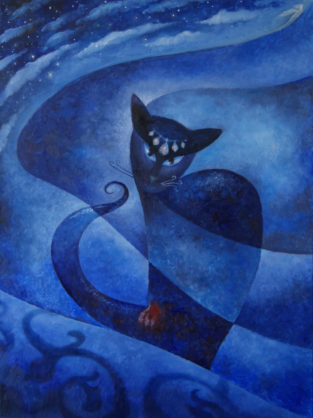 Alan Albegov. Blue domes